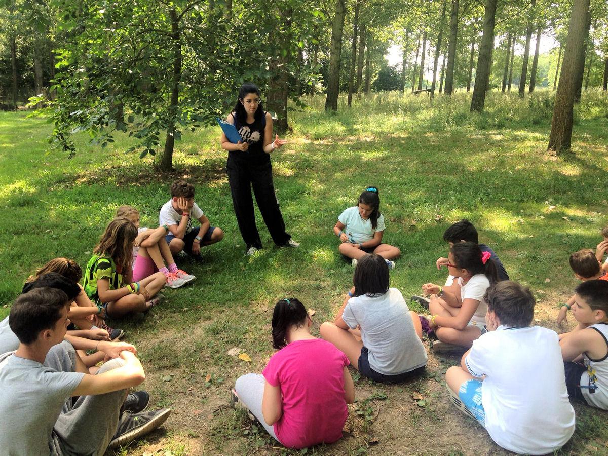 Lezione con la nostra naturalista