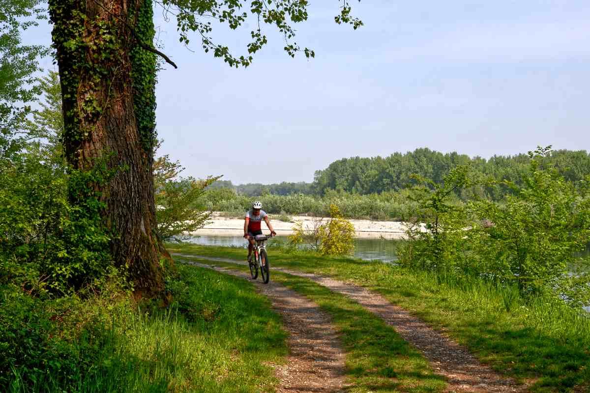 In bicicletta nel Parco del Ticino